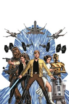 Comic-Con: Marvel Unveils Three New 'Star Wars' Comic Book Series for 2015