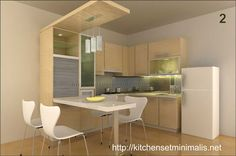 Kitchen set minimalis | Jual kitchen set minimalis  | My Kitchen Set