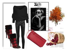 """""""Untitled #107"""" by april-lover ❤ liked on Polyvore featuring Yves Saint Laurent, gx by Gwen Stefani and Croft & Barrow"""