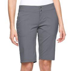 Women's Columbia Zephyr Heights Bermuda Shorts, Size: 12, Purple Oth