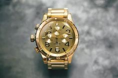 Mens Watch Gold Nixon