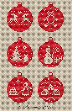 42 Ideas For Embroidery Patterns Christmas Ornaments Cross Stitch Christmas Perler Beads, Cross Stitch Christmas Ornaments, Xmas Cross Stitch, Cross Stitch Cards, Christmas Cross, Cross Stitching, Cross Stitch Embroidery, Christmas Christmas, Christmas Mantles