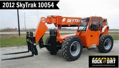 Our featured Telehandler is a 2012 #SkyTrak 10054, Cab & Heat, Cummins QSB 3.3T 110 HP Tier 3 Diesel Engine, 677 Hrs. We have a great selection of #Telehandlers! You can view them all at: http://www.rockanddirt.com/equipment-for-sale/forklifts-telehandler #HeavyEquipment #RockandDirt