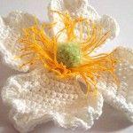 Crochet Clematis Montana  Visit the blog for a 365 Crochet flowers bouquet project