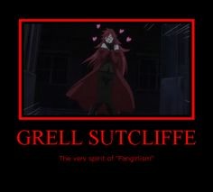 Yes. Grell is my inner fangirl. Grell is also an MC