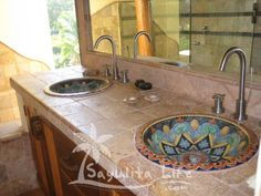love the mexican sinks