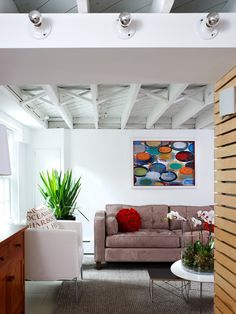 unfinished ceiling/painted white  Basement +unfinished +basement Design, Pictures, Remodel, Decor and Ideas - page 6