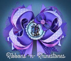 Arco arco de descendientes púrpura Disneys descendientes