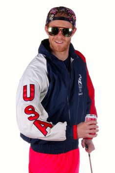 Vintage USA Windbreaker  Jacket | Get your USA gear and all manner of outrageous clothing at Shinesty.com