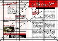 Reticulas de Editorial: Reticulas en Editorial Page Layout, Layout Design, Logo Design, Magazine Design Inspiration, Graphic Design Inspiration, Editorial Layout, Editorial Design, Grid Layouts, Golden Ratio