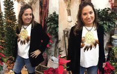 Collar Atila una maravilla hecha a mano ideal para esta Navidad