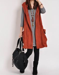 Hey, I found this really awesome Etsy listing at http://www.etsy.com/es/listing/165226662/red-cotton-vest-waistcoat-cotton-dress