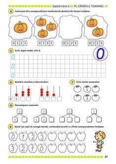 Clasa Pregătitoare : Matematica si explorarea mediului pentru clasa pregătitoare. Partea I Autism Activities, Kindergarten Activities, Educational Activities, Math For Kids, 4 Kids, Crafts For Kids, Paper Trail, Busy Book, Kids Education