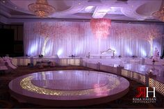 A beautiful wedding will be up on the blog tomorrow at www.RimaHassanBlog.com. I lovedddd their dance floor.