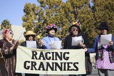 Teresa Mathew on the Raging Grannies of San Jose and their distinct brand of activism.