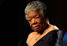 Maya Angelou is one of my hero's :o)  How important it is for us to recognize and celebrate our heroes and she-roes!