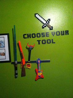 La Vida es Bella: Minecraft Bedroom Decor