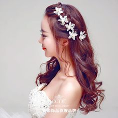 CCTM2015 новый корейский кружева свадебные волосы шпильки алмаз свадебные диадемы кристалл аксессуары жемчужные лепестки волосы -tmall.com Lynx