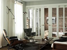Living Room in Brooklyn, NY by Workstead