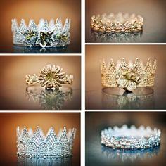 Diese Kronen bestehen aus Spitze