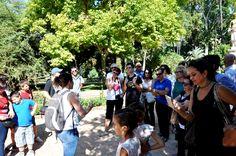 En el Parque de María Luisa descubriendo sus secretos este otoño.