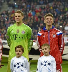 """Thomas being more excited than the kids... not even remotely surprising. """"Footballers and kids"""""""