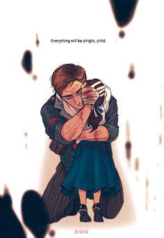 BOOKER AND ANNA! My heart ;^;   Bioshock Infinite  