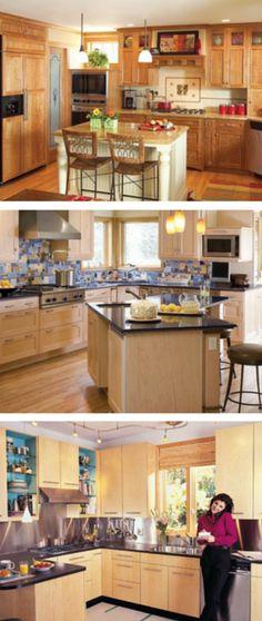 Kitchen Design Ideas: Projects and ideas to update your kitchen's design. http://www.familyhandyman.com/kitchen/design-ideas