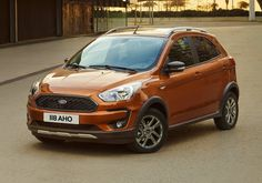 Autolibs  Ford Ka Plus Active Ford Revealed The New Ka For The First Time Also Offered As New Ka Active Crossover Version