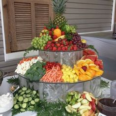 Love this #veggie & #fruit display!! So #beautiful abd #vibrant w/ great #healthy options! #maglebys #utahcatering #catering #utahvalley #utahweddings #utahbride #provobride #hospitality