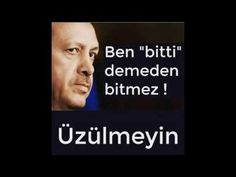 Recep Tayyip Erdoğan Şiir, Ben Bitti Demeden Bitmez Üzülmeyin - YouTube The Unit, Youtube, Reiss, Empire, Pretty Words, Nice Asses, Youtubers, Youtube Movies