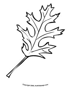Free Printable Fall Leaves  | Autumn Leaf - Free Coloring Pages for Kids - Printable Colouring ...