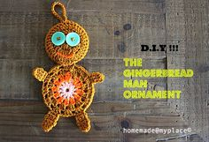 homemade@myplace: Make it ! Gingerbread man Ornament !!!