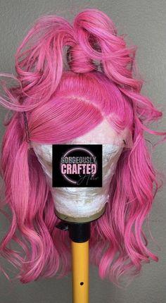 Baddie Hairstyles, Pretty Hairstyles, Weave Hairstyles, Creative Hair Color, Pretty Hair Color, Hair Laid, Lace Hair, Creative Hairstyles, Aesthetic Hair