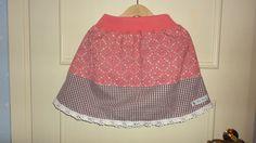 Höst-rosa kjol stl 92-98