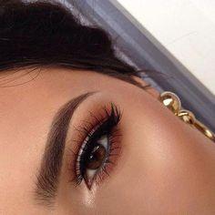 Makeup Dark Brown Eyes 37 New Ideas Best Makeup Brushes, Eye Makeup Tips, Makeup Goals, Makeup Inspo, Best Makeup Products, Makeup Ideas, Makeup Tutorials, Cute Makeup, Pretty Makeup