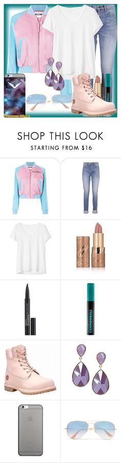 """""""Princess Allura (Voltron Legendary Defender)"""" by geekyandnerdyfashion ❤ liked on Polyvore featuring Moschino, Yves Saint Laurent, Gap, tarte, Smashbox, Urban Decay, Timberland, Native Union and Ray-Ban"""