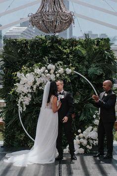 """Crown provided the fairy tale wedding we dreamed of!"" #weddingvenue #melbournewedding #realweddings"
