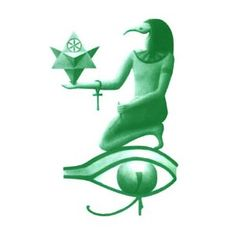 The Emerald Tablets of Egyptian God Thoth, The Atlantean, Artwork