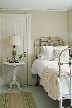 I love old beds!
