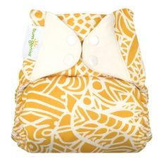 bumGenius elemental AIO cloth diaper!