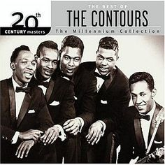 1960's musical band album covers | 2003 Motown CD showing the 1960s' group, The Contours.