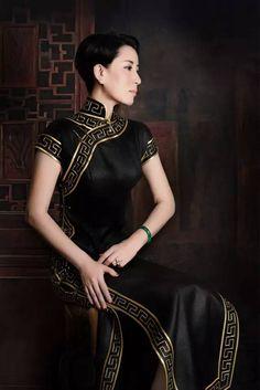 TANYA Couture旗袍 七种美_旗袍心语_华人旗袍网