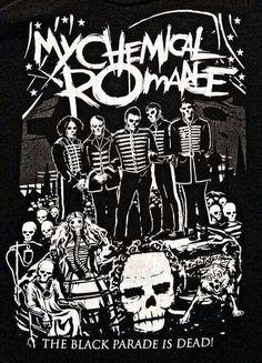MCR t shirt design