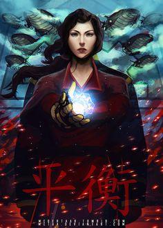 Asami Sato - The Legend Of Korra: Balance by MeTaa.deviantart.com