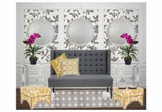 Silver and Gold.. by lrkdecor | Olioboard