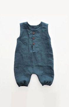 Ecofriendly Infant Short Sleeved Romper Blue Ombre Romper,Organic Natural Dye Girls Bodysuit Unisex Indigo Boho Baby Boys Bodysuit