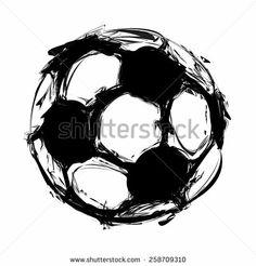Soccer ball tattoo idea