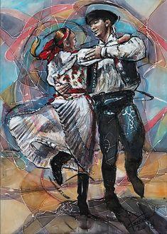 pucik / Tanec je radosť -Vagonár-plátno