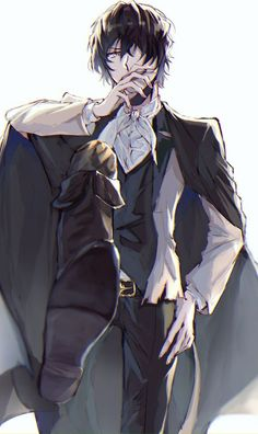 Hei~ My name is Dazai! Manga Anime, Manga Boy, Anime Art, Dazai Bungou Stray Dogs, Stray Dogs Anime, Bungou Stray Dogs Characters, Dazai Osamu, Cute Anime Guys, Anime Boys